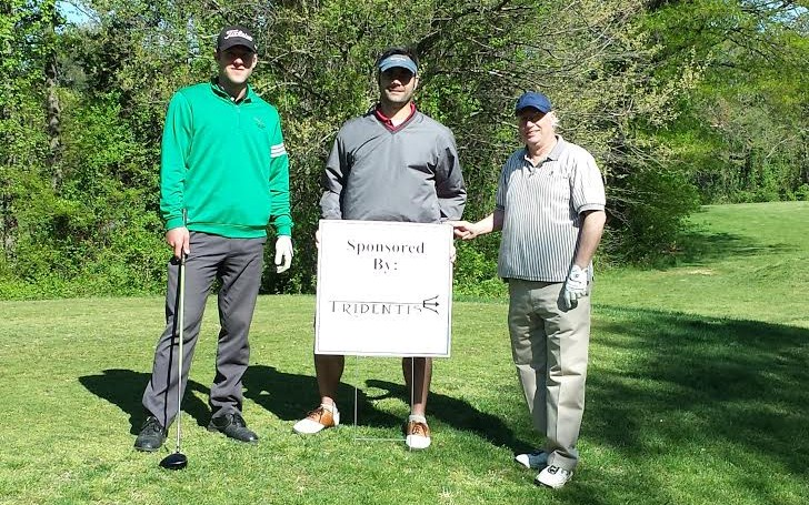 Tridentis golf foursome team